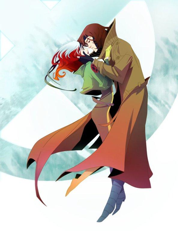 Rogue & Gambit by Amelia Vidal